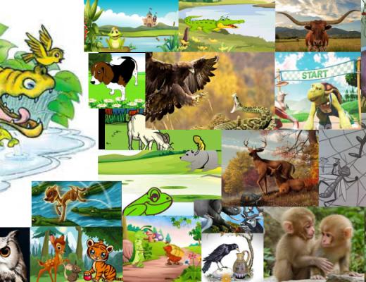dongeng binatang / fabel