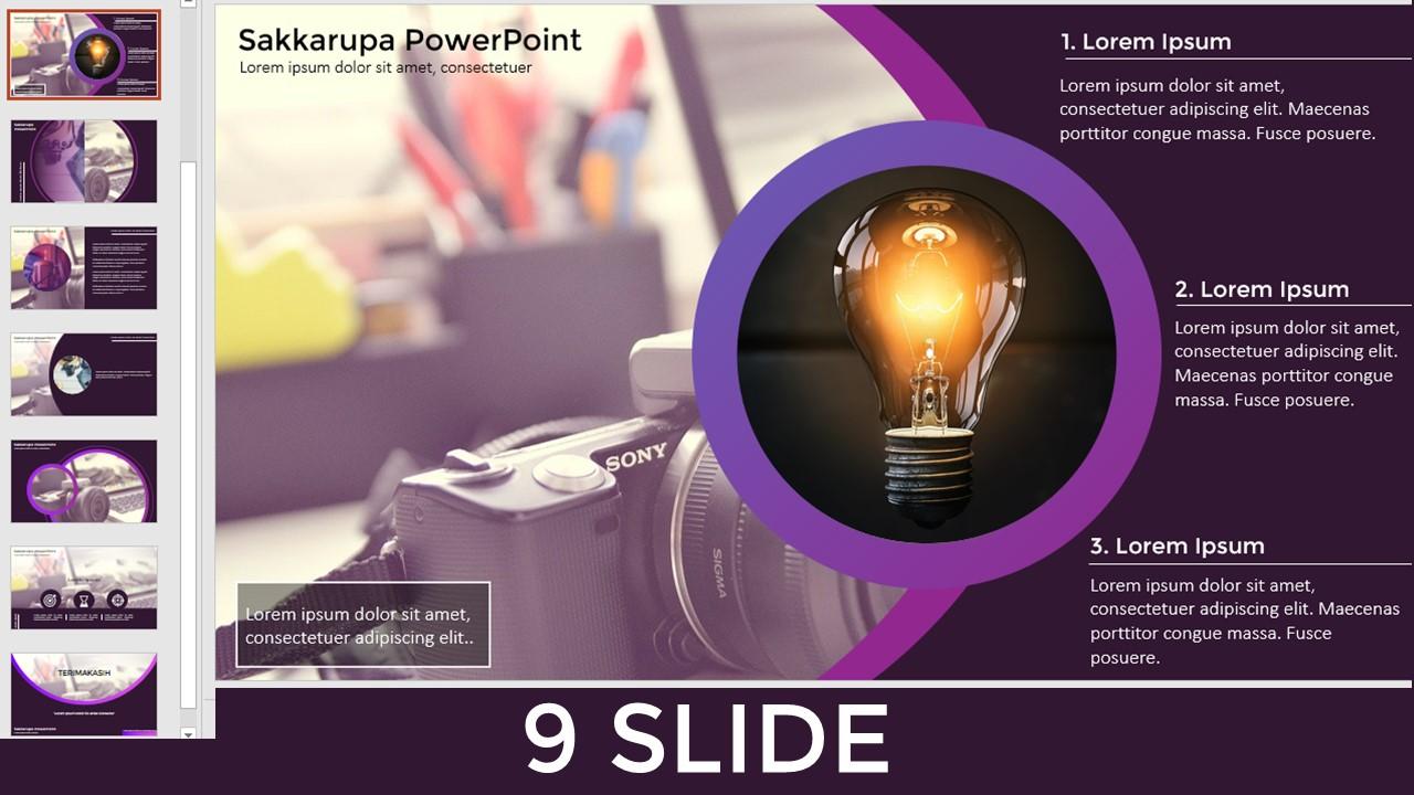 template powerpoint keren - template bisnis powerpoint
